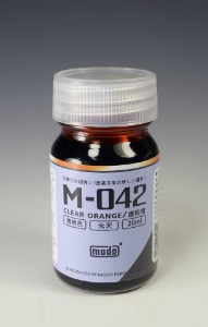 [M-042] Clear Orange (18ml,클리어)