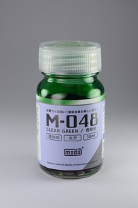 [M-048] Clear Green (18ml,클리어)